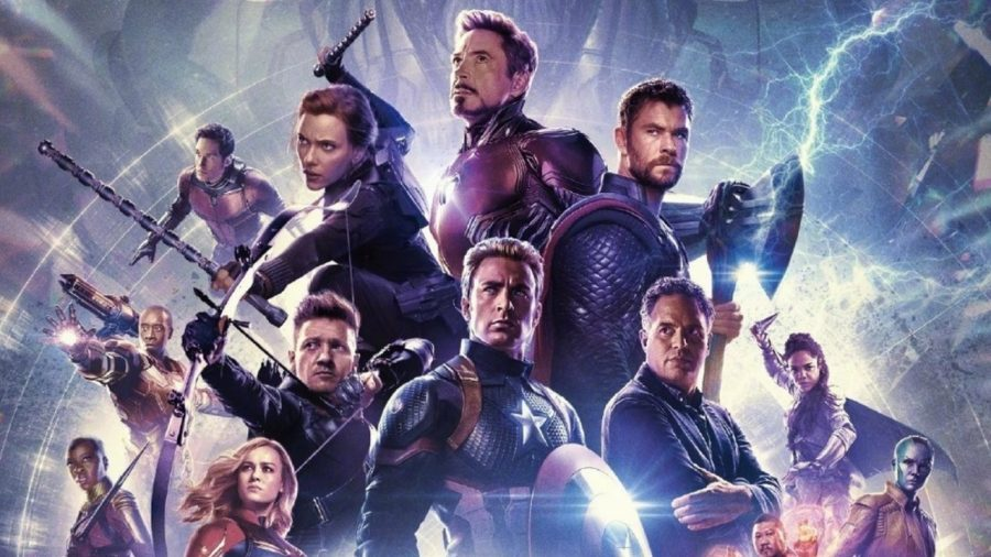 The Poster for the film of the decade, Avengers Endgame.