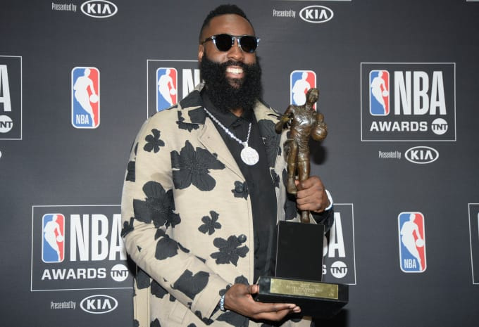 Last season, James Harden was awarded the Kia Most Valuable Player award for an amazing season. He has been playing on a better level this season