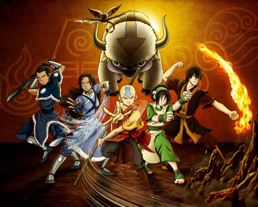 Poster of Avatar: the Last Airbender.