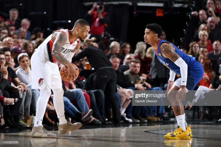 Gary Harris, who often was assigned to guard Damian Lillard, fouled out in the game. Lillard used this opportunity to score in crucial moments of the game.