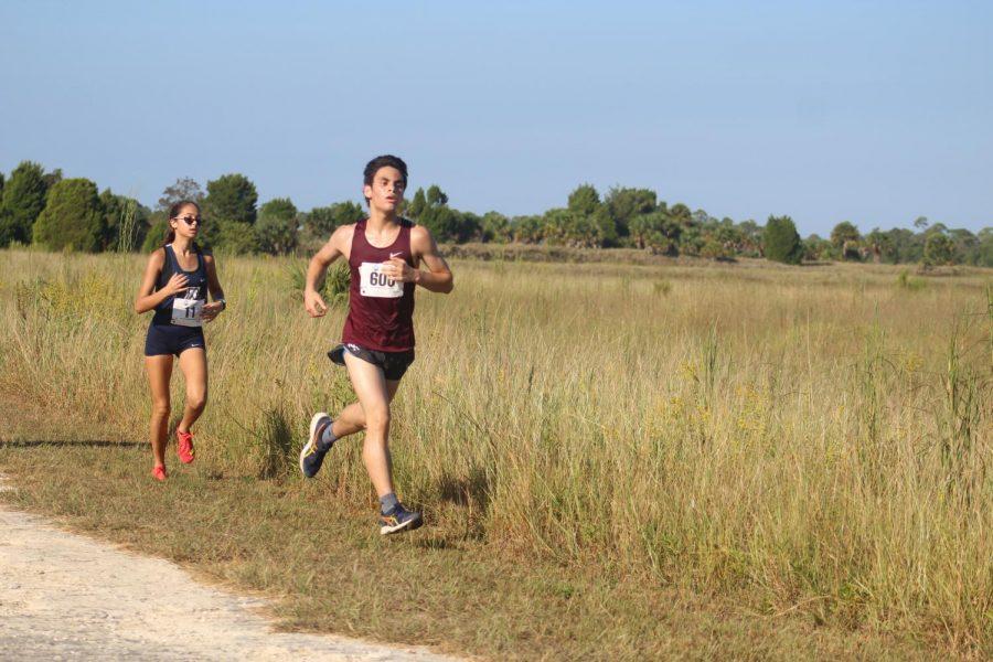 Eduardo Torres finishing with 400m left.