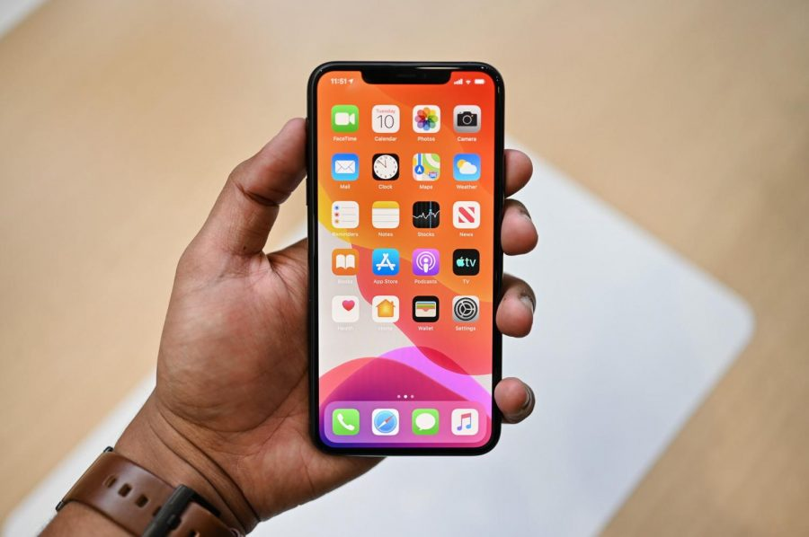 The front of the iPhone 11 Pro stays the same in this generation, copying the same design as the X and XS.