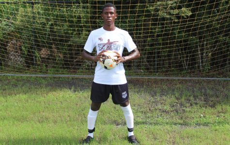 A natural born soccer player: Malcolm Lewis