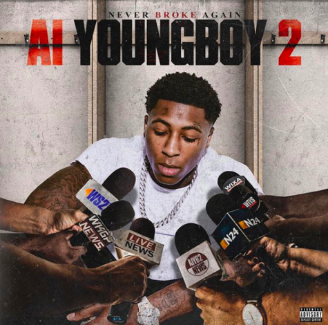 "The cover art for ""AI Youngboy 2"" album by Youngboy Never Broke Again."