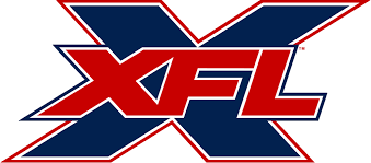 The logo for the revamped XFL league