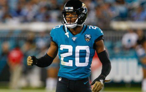 Jalen Ramsey will trade in his Jacksonville Jaguars uniform for the Rams.