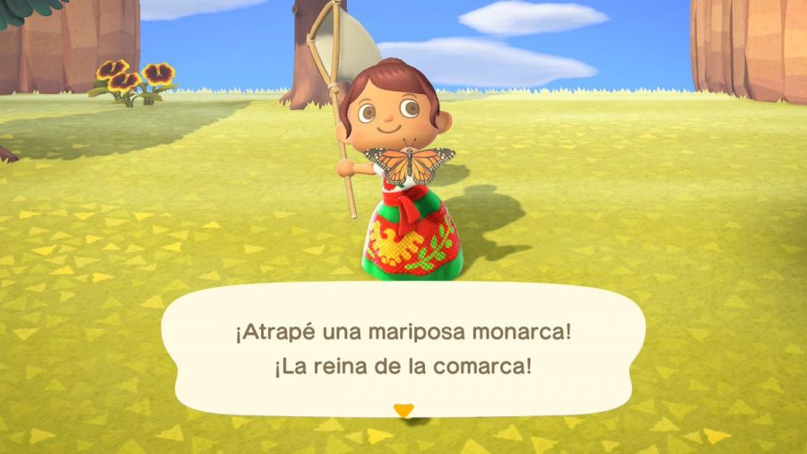 ++This+shows+that+when+Animal+Crossing%3A+New+Horizons+is+set+to+Spanish+it+will+feature+brand+new+themed+clothing+as+seen+in+these+screenshots.