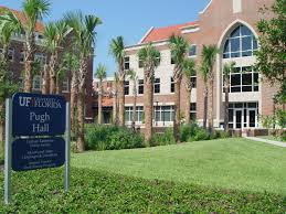 Pugh Hall at the University of Florida.