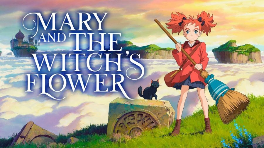 This is the official cover for the trailer of Mary and the Witch's Flower.