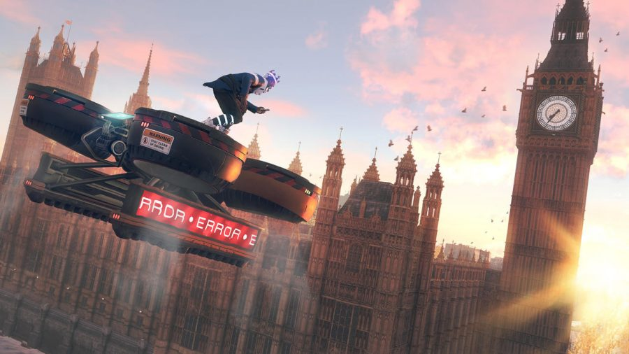 A picture of Big Ben in London, the setting of Watch Dogs Legion.