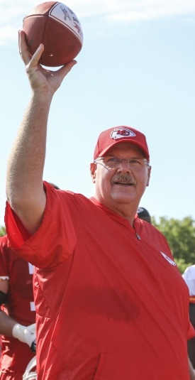 Andy Reid has won his 1st Super Bowl after 222 career wins.