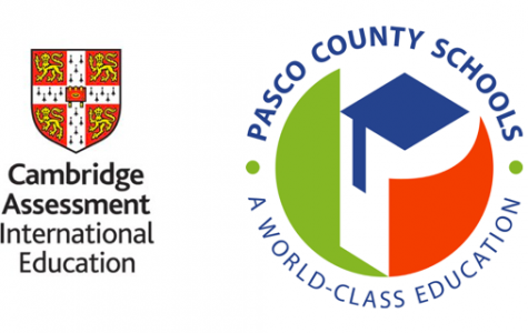 Pasco County Schools and Cambridge International's logos side-by-side might be seen more often if the Cambridge course gets approved for all high schools.