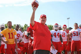 Head Coach of the Kansas City Chiefs, Andy Reid