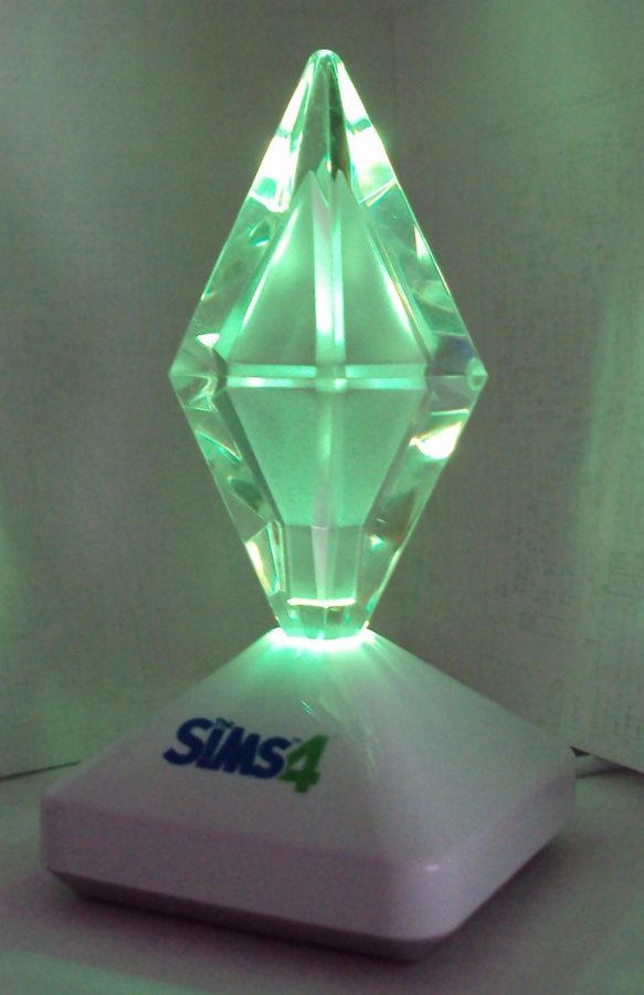 Signature plumbob from the Sims