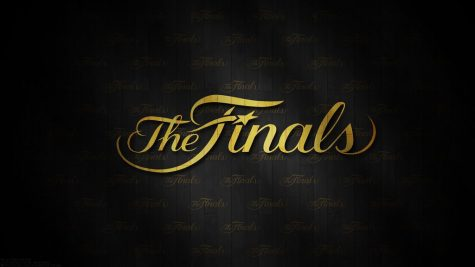 The NBA Finals logo advertisement for the 2020 post season games.