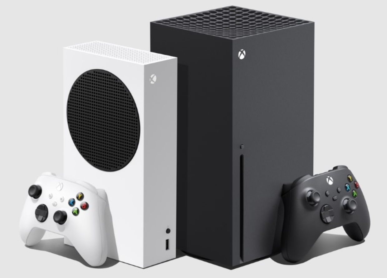 The soon to be released Xbox Series X and S.
