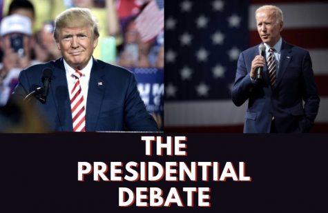 Photo illustration of President Donald J. Trump and former Vice President Joe Biden.