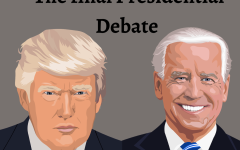 Photo illustration of President Donald Trump and former Vice President Joe Biden.