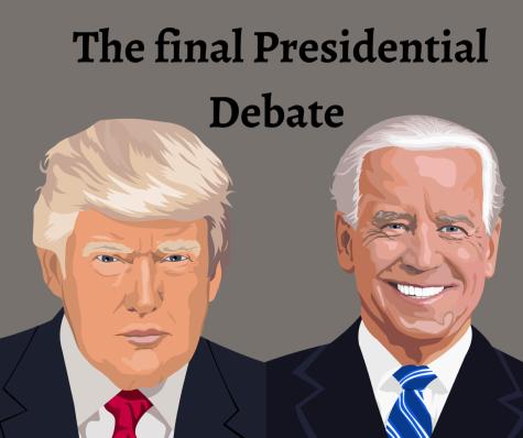 Photo illustration of President Donald Trump and former Vice President Joe Biden.