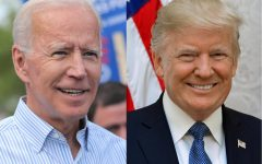 President Trump and former Vice President Biden.