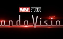 WandaVision logo from the new series on Disney+ from Marvel Studios.