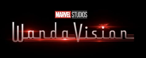 WandaVision logo from the new series on Disney+ from Marvel Studios.