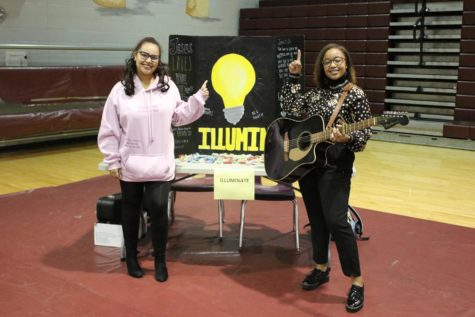 The illuminate founders were at the schools club fair, and hope to gain as many new members as possible.